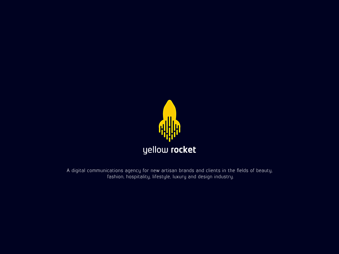 Yellow Rocket logo