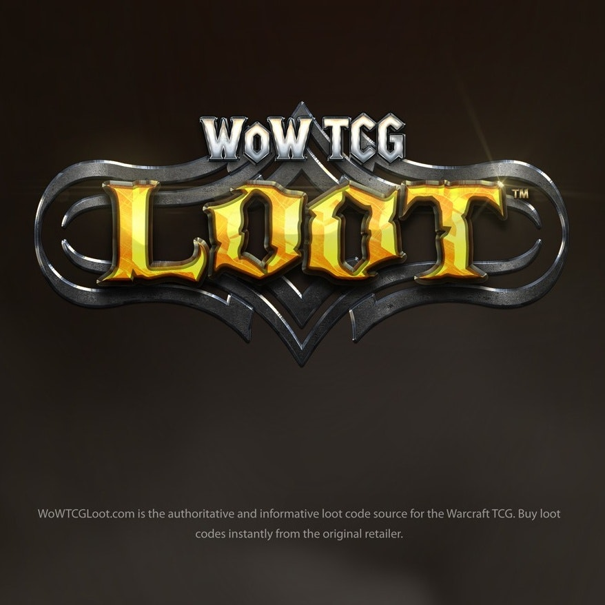 World of Warcraft Trading Card Game logo