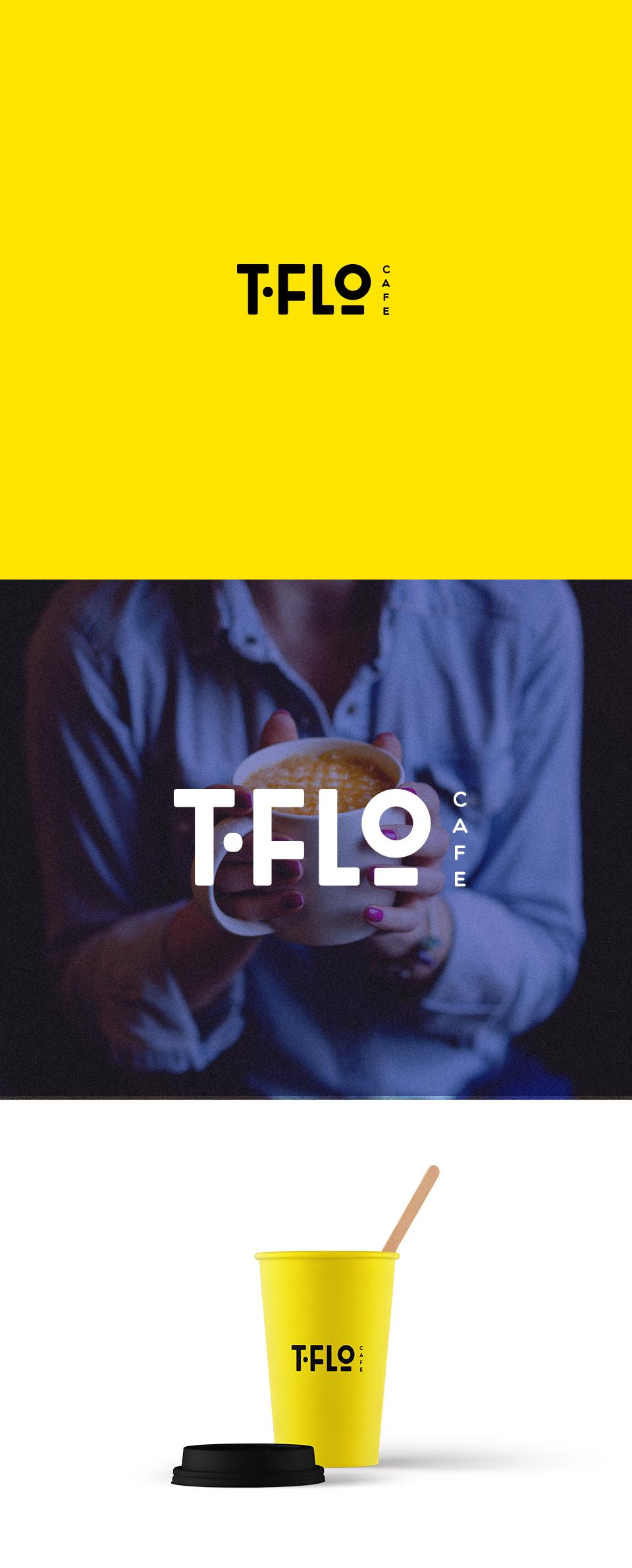 T-flo Cafe logo