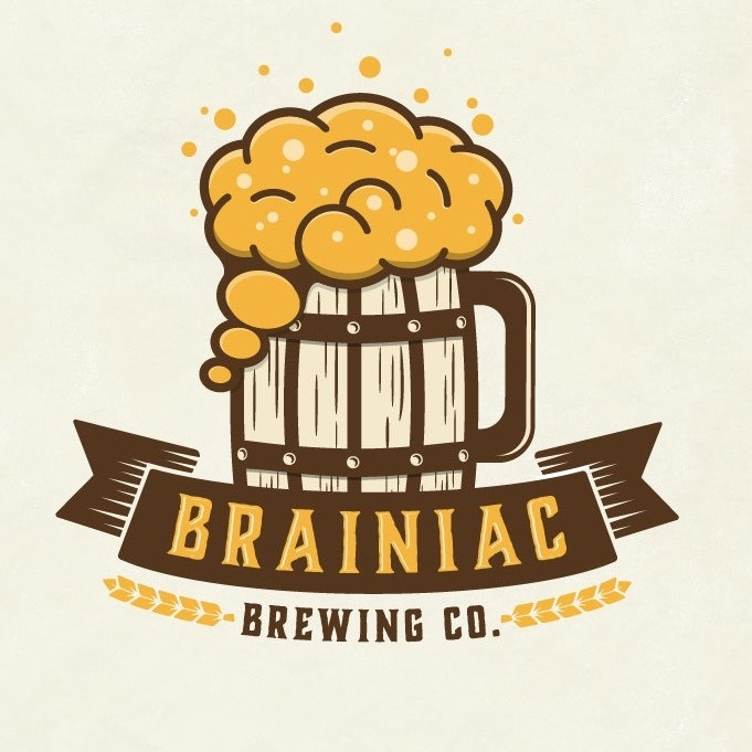 Brainiac Brewing Co. logo