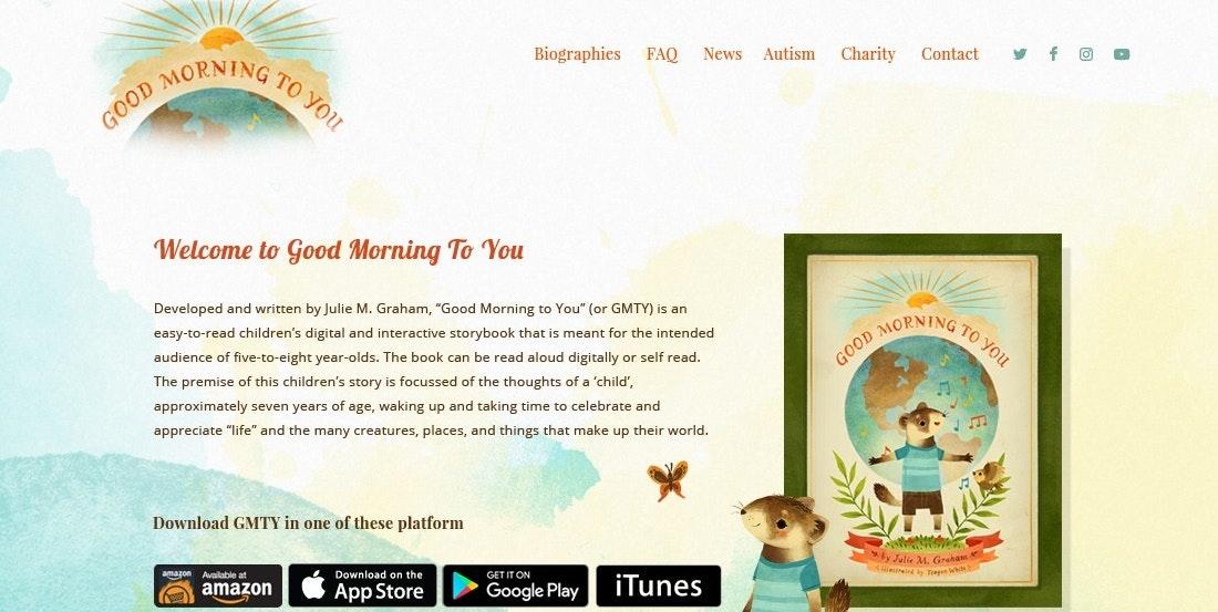Watercolor web page