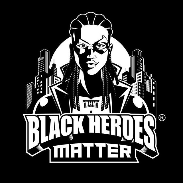 Black Heroes Matter logo