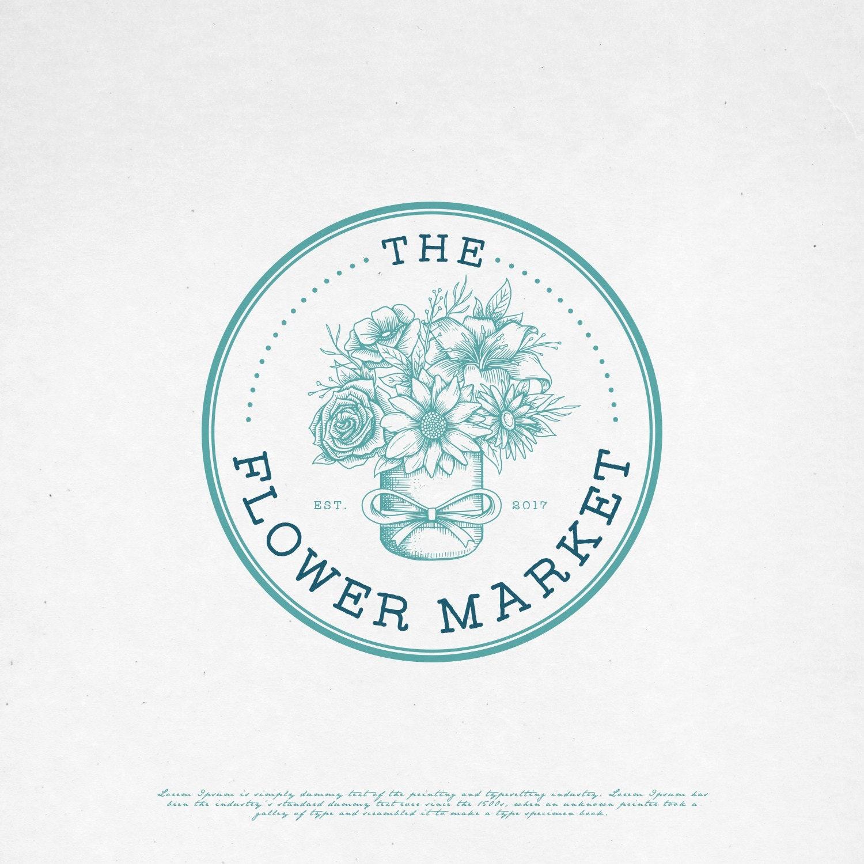 The Flower Market logo