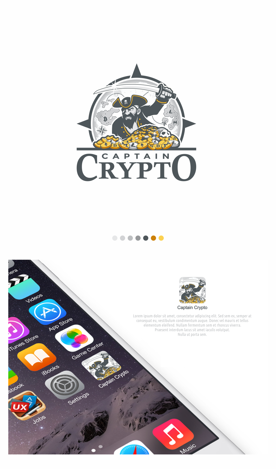 Logo for cryptocurrency show