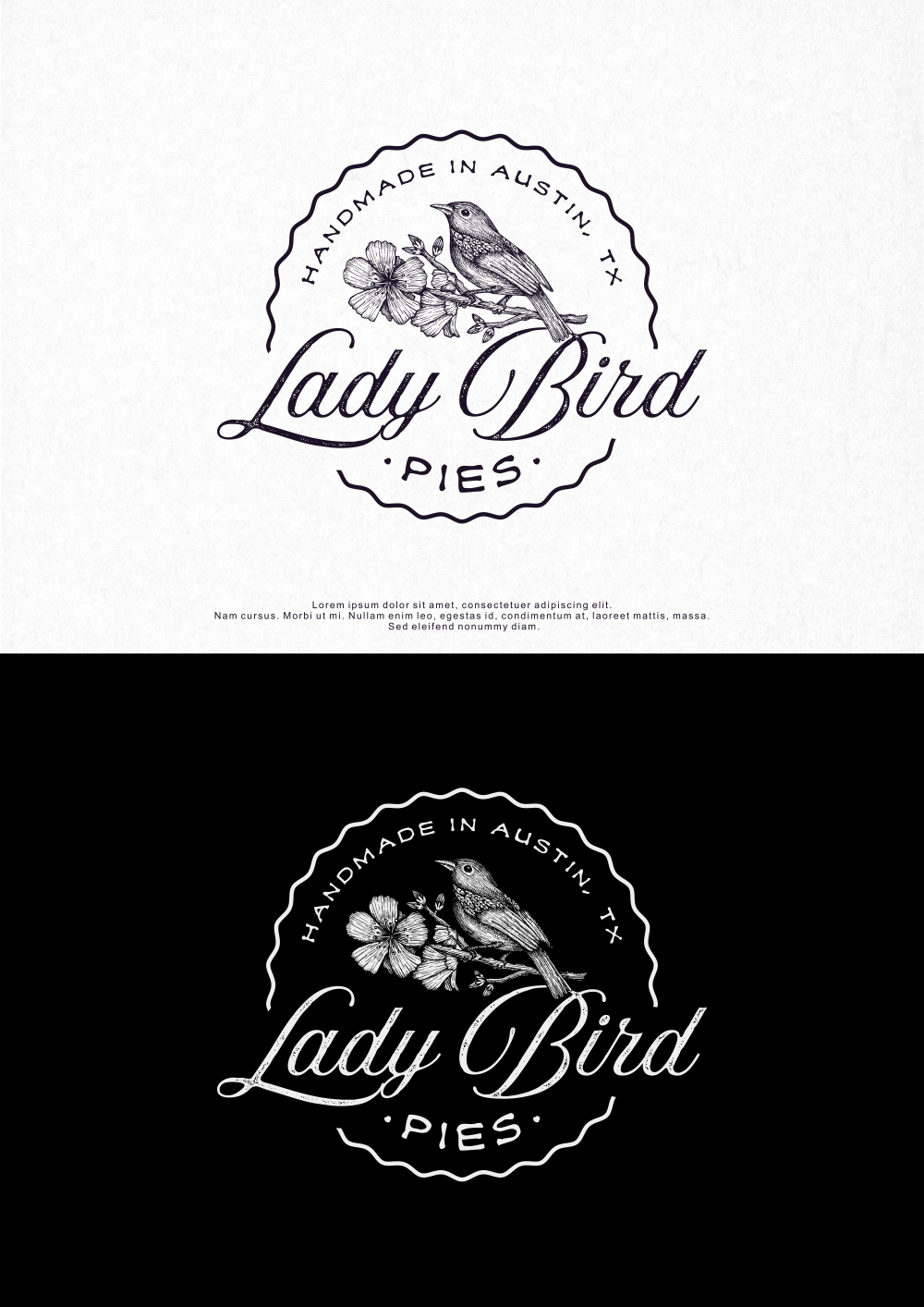 Lady Bird Pies logo