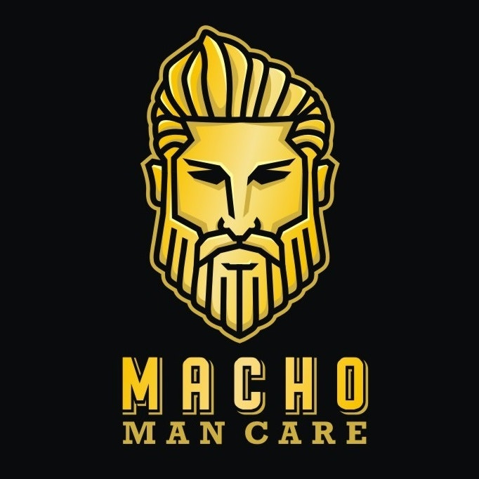 Macho man care logo