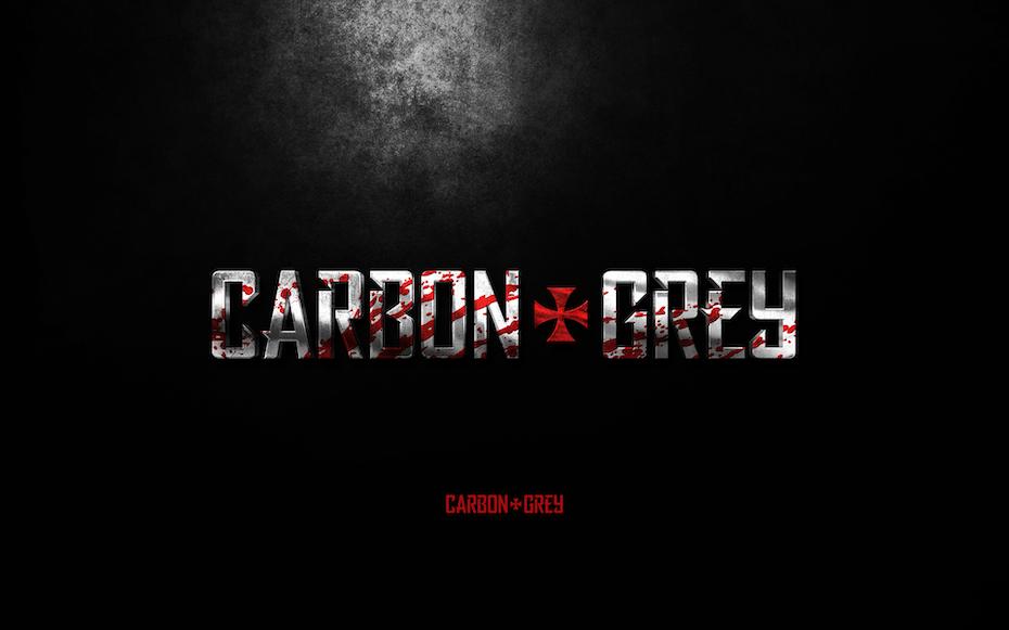 Logo for Carbon Grey comic book