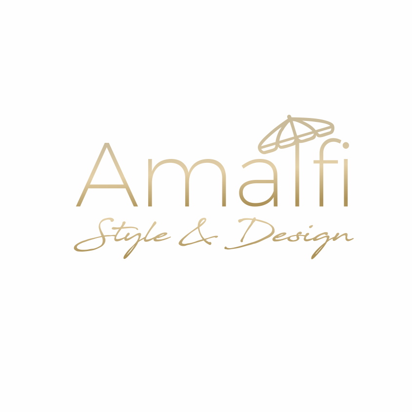 Amalfi coast inspired logo