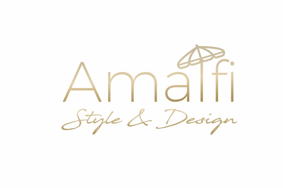 Amalfi coast inspired logo