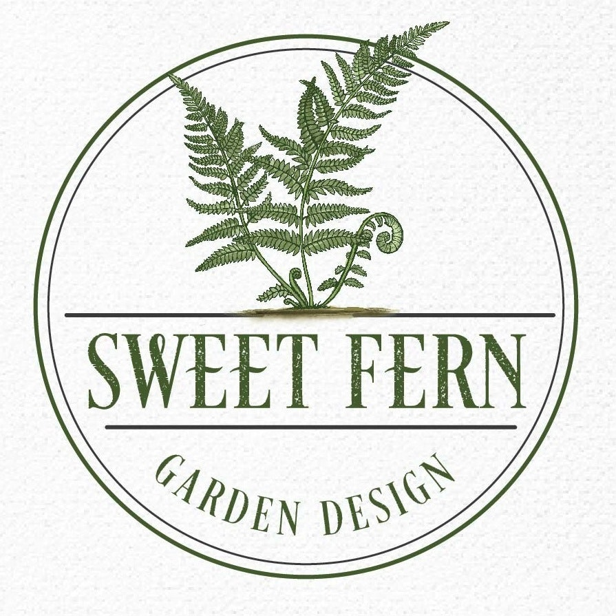 Sweet Fern Garden Design logo