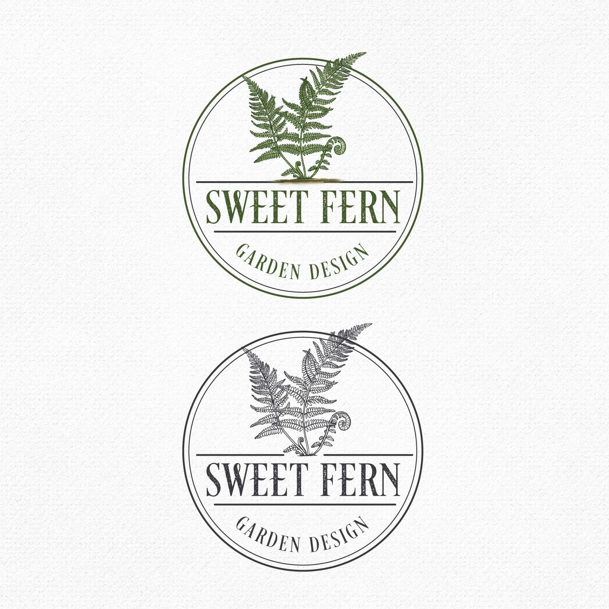 Sweet Fern Garden Design logo
