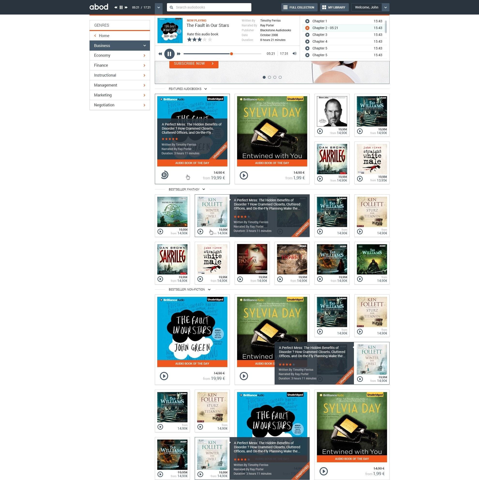 abod website design