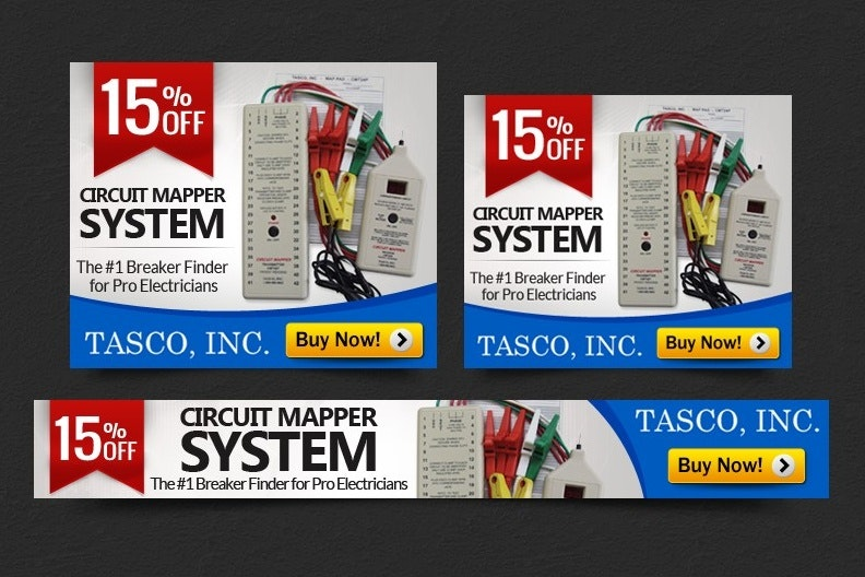 Tasco banner ad design