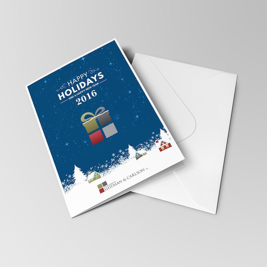 Individuelle Weihnachtskarten für Unternehmen: Ideen und ...