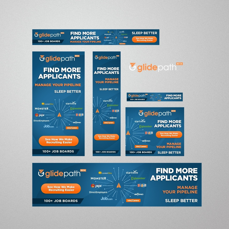 GlidePath banner ad design