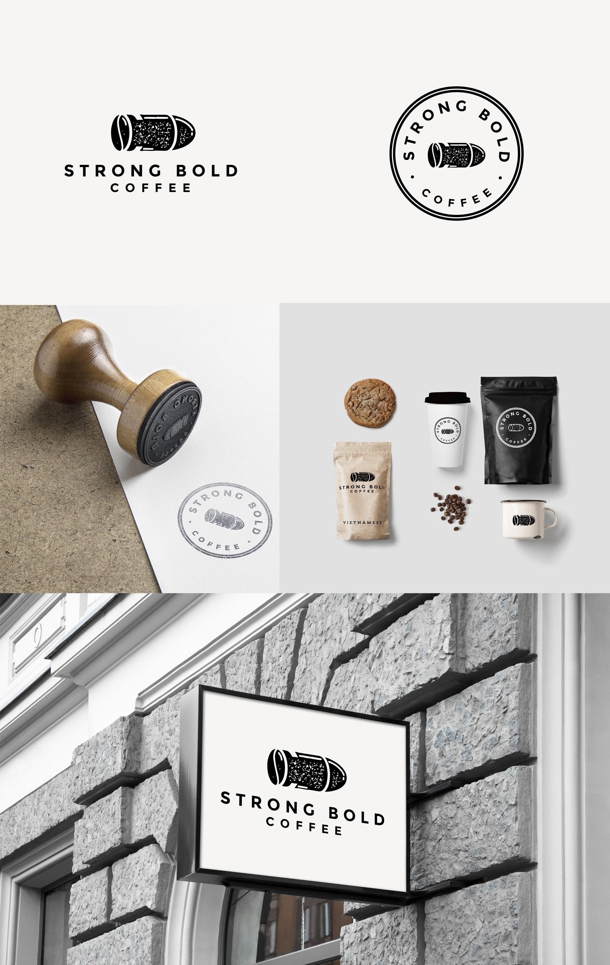 Strong Bold Coffee logo
