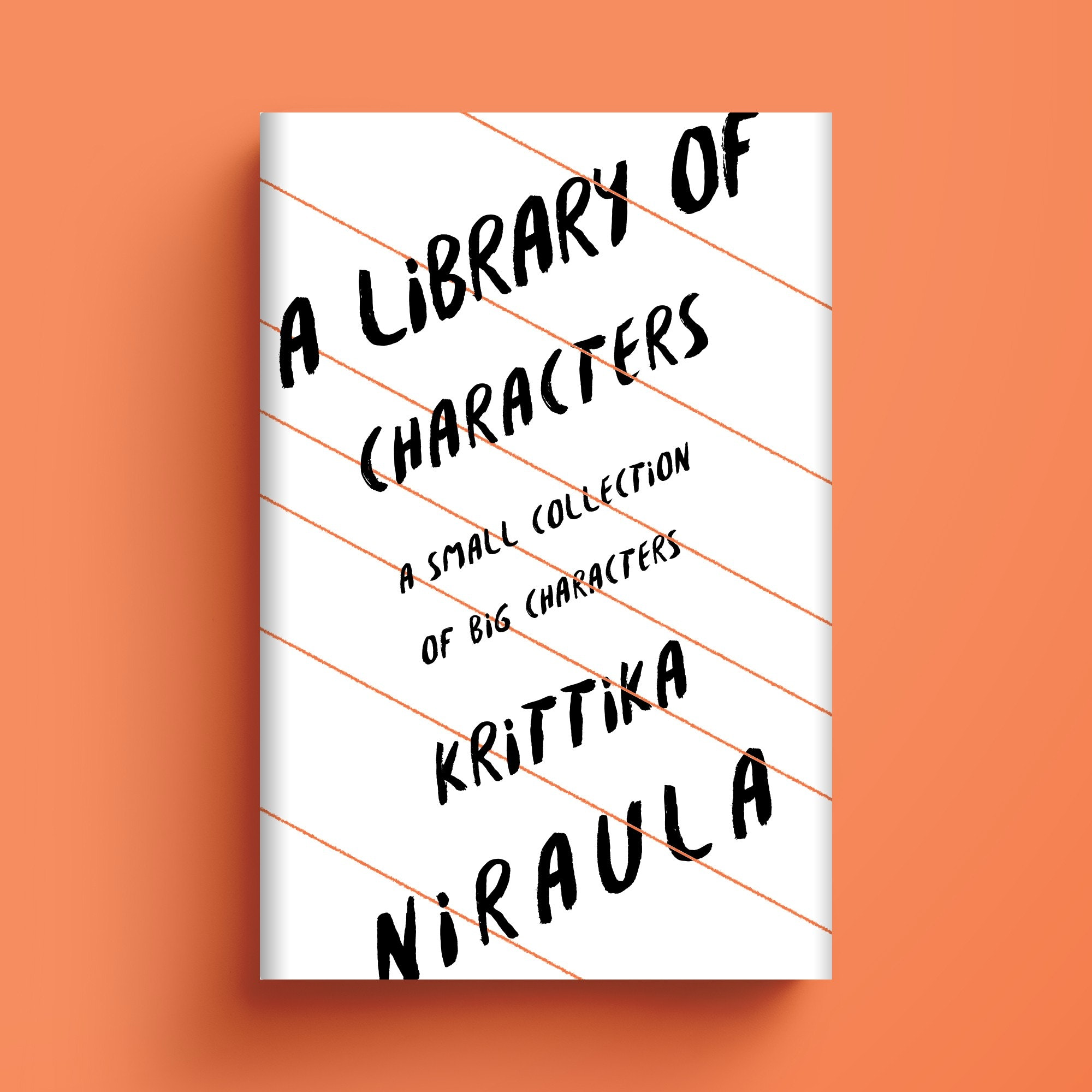 A Library of Characters book cover