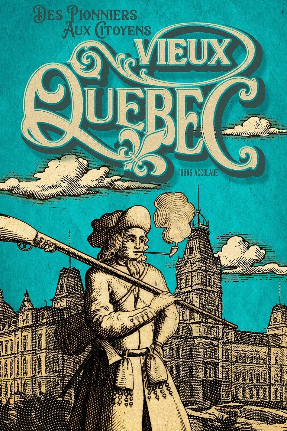 Travel poster for Quebec