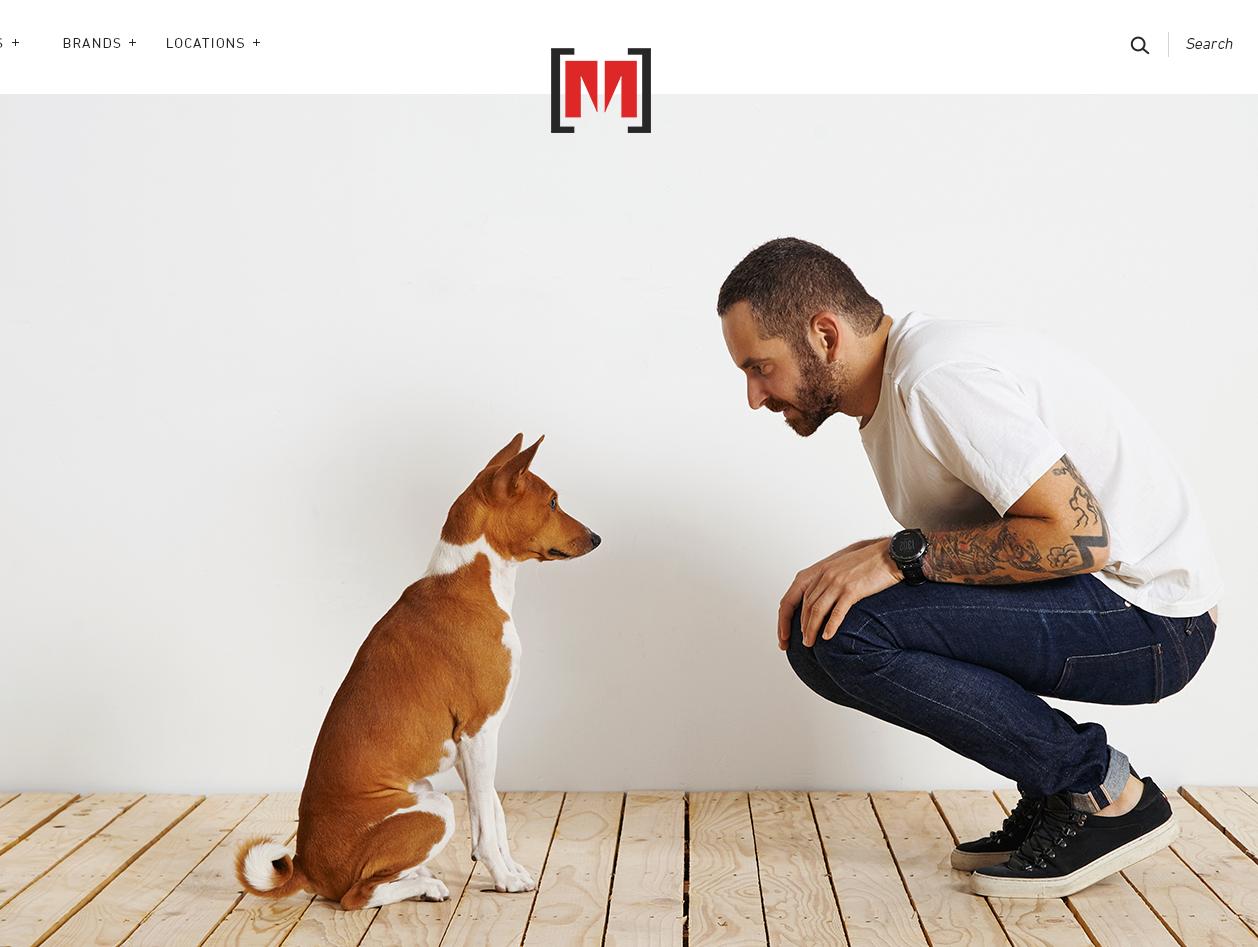 Moes website design