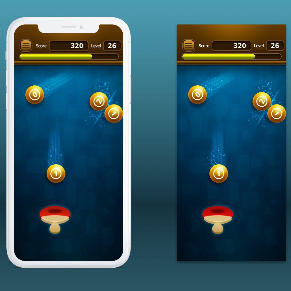 Gaming app design
