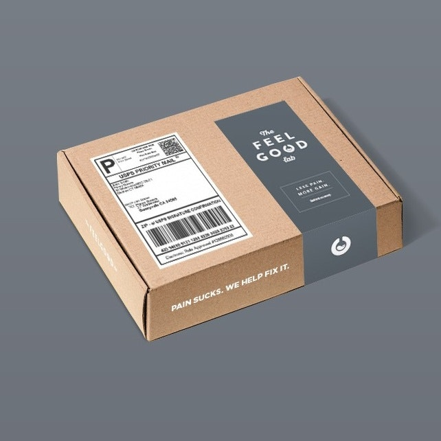 Minimalist mail packaging