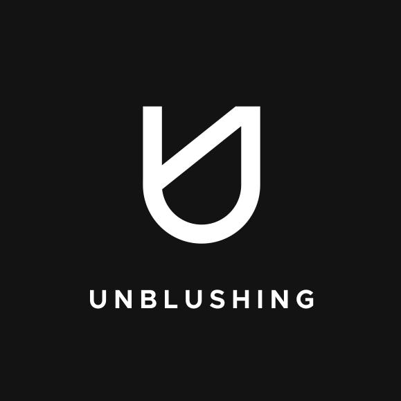 Unblushing logo