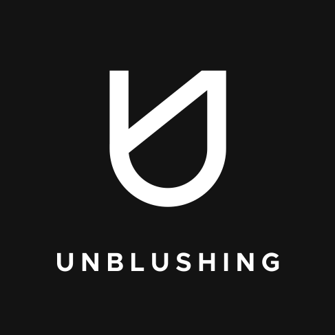 Unblushing logo