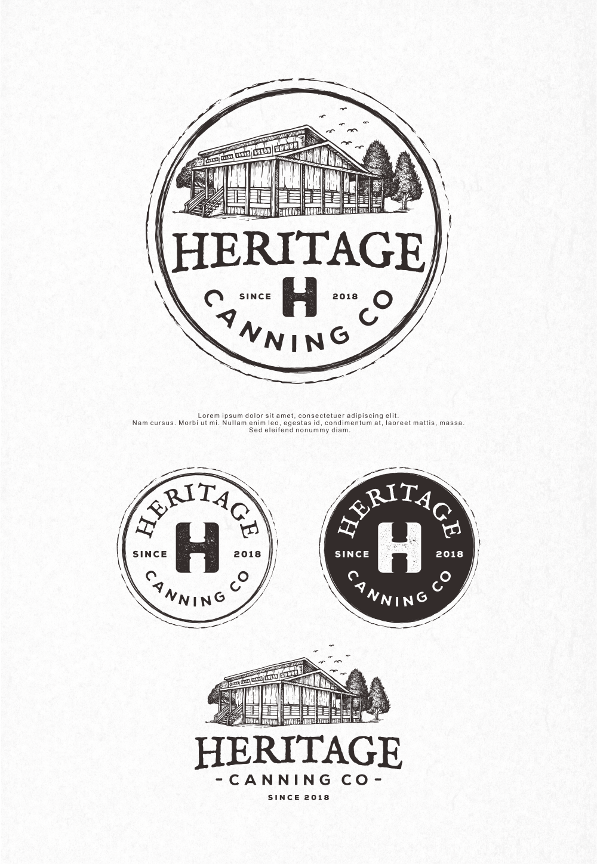 Heritage Canning Co. logo