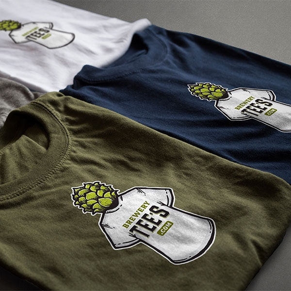 brewery t-shirt logo