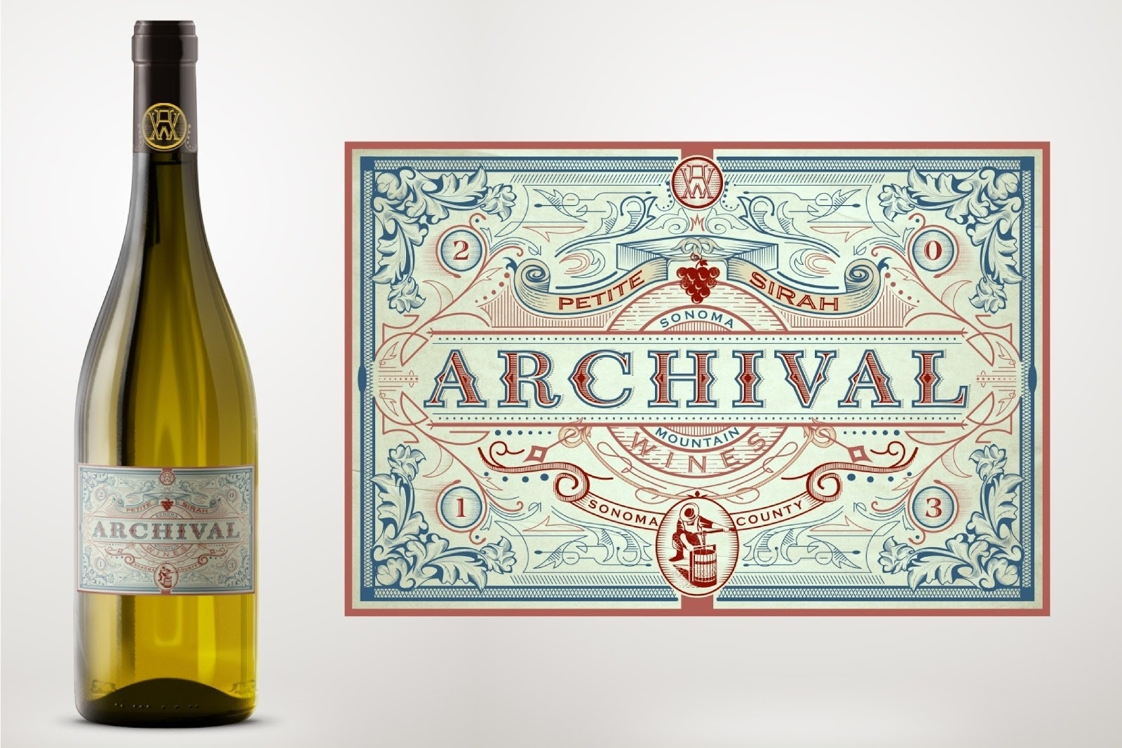 Archival wine