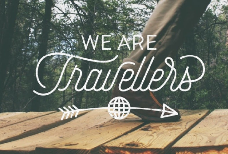 We Are Travellers typeface