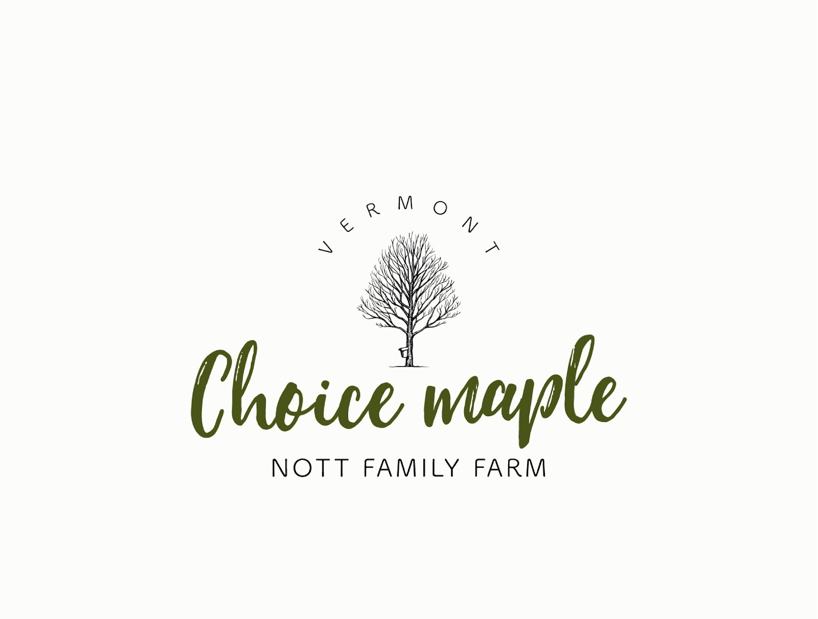 Choice Maple Nott family Farm