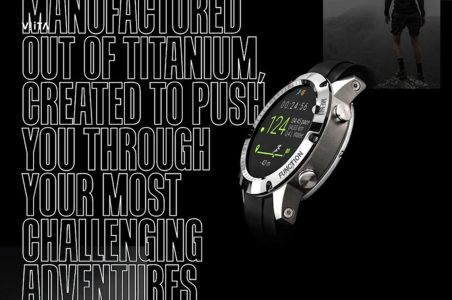 Viita watch design
