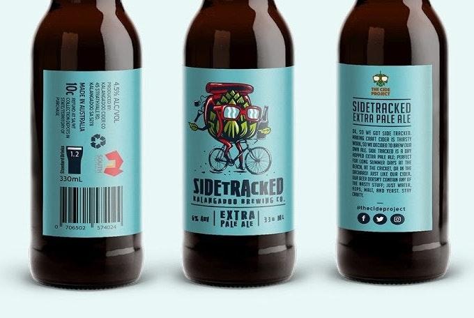 Sidetracked beer design