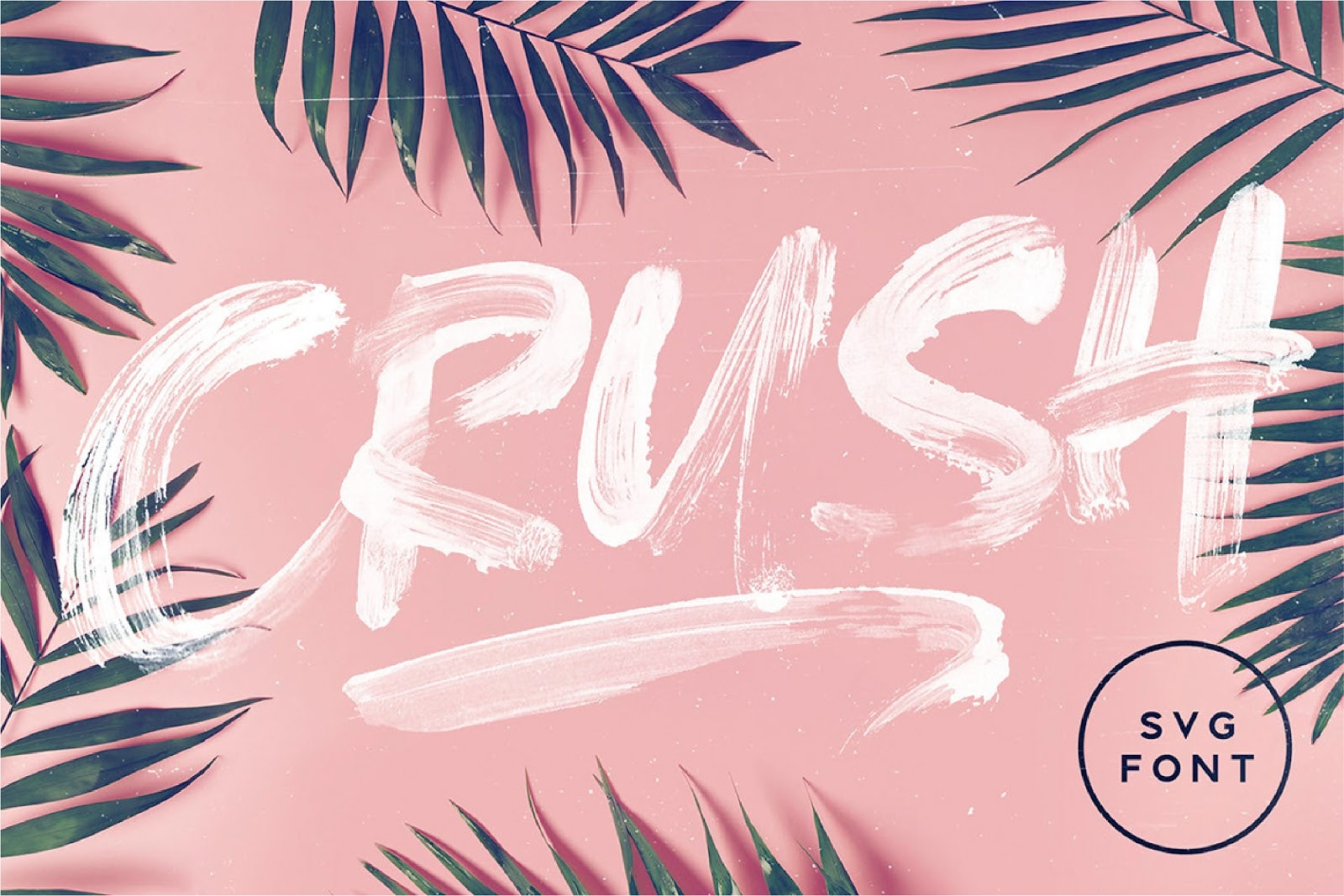 Crush tropical logo