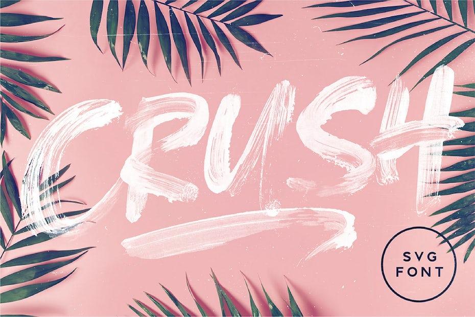 Crush tropical logo