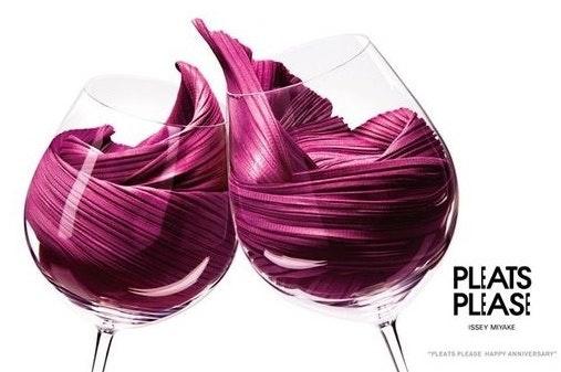 Wine textile texture