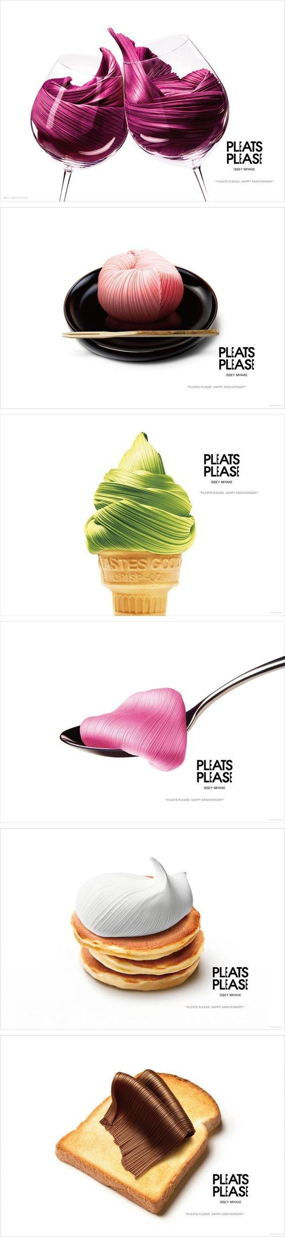 Ice cream textile