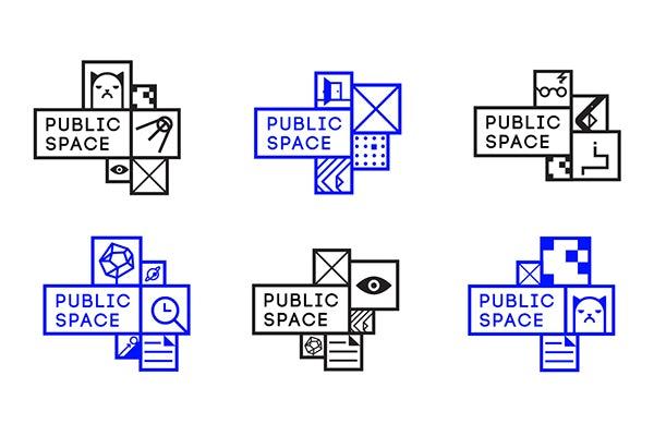 Opción de logotipo diferente para el espacio público.