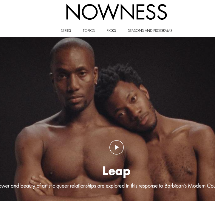 Nowness web design