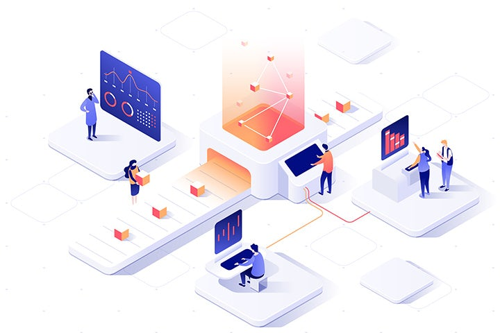 Isometric data design