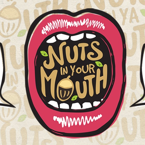 nuts in your mouth logo
