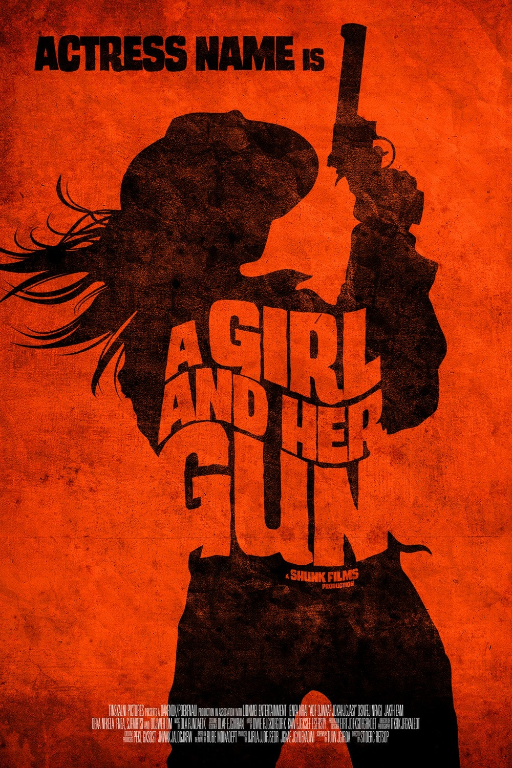 A Girl and Her Gun movie poster