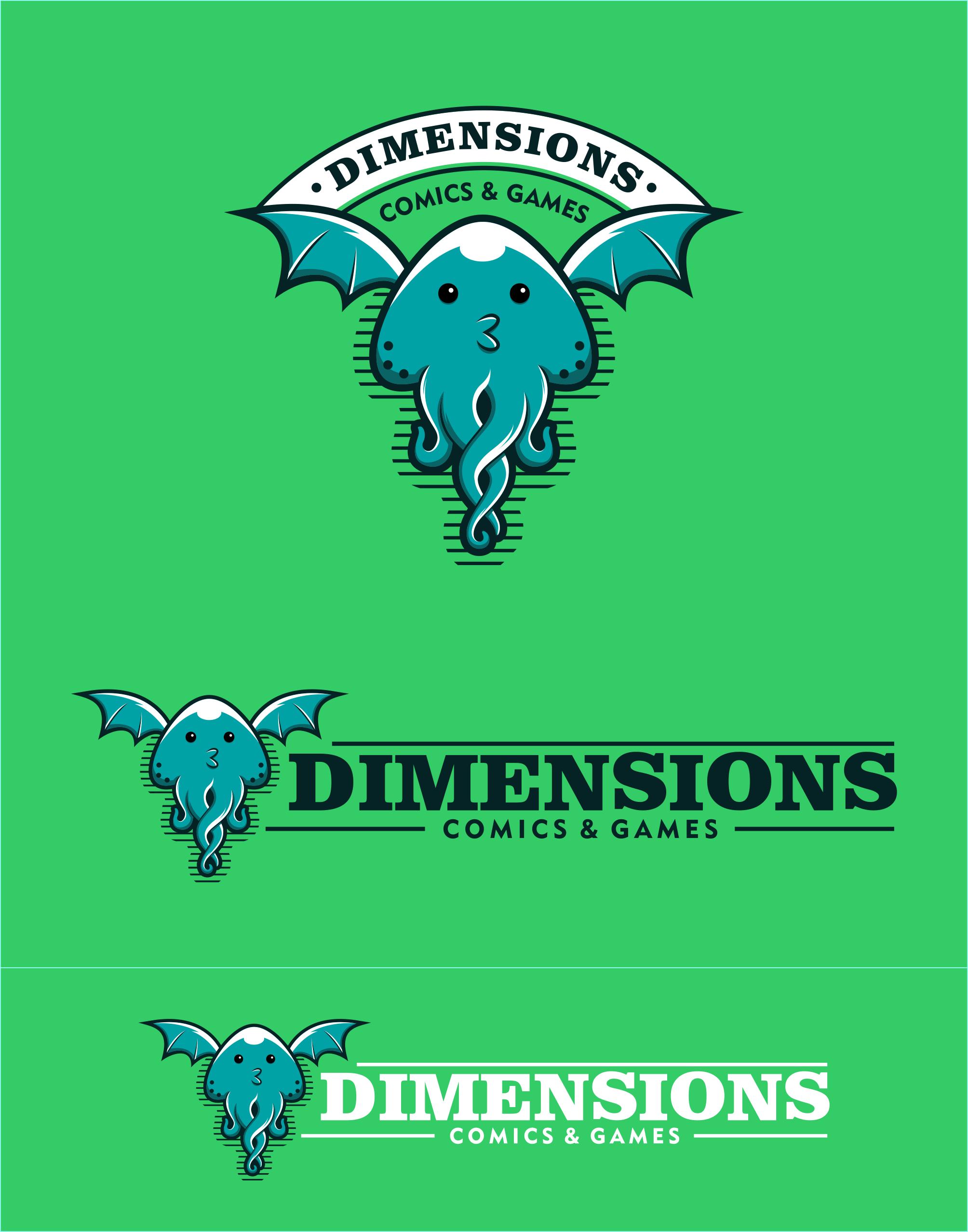 flying octopus logo