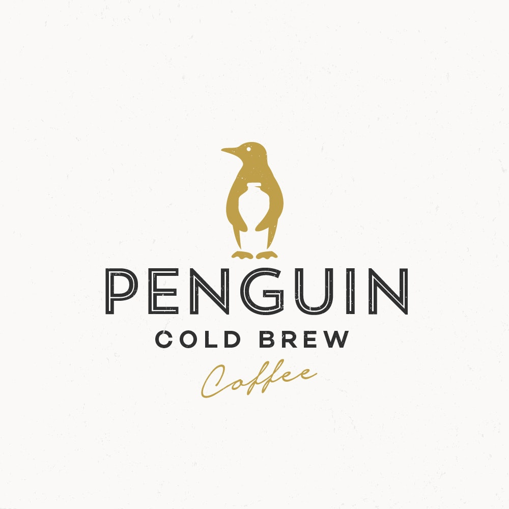penguin cold brew logo