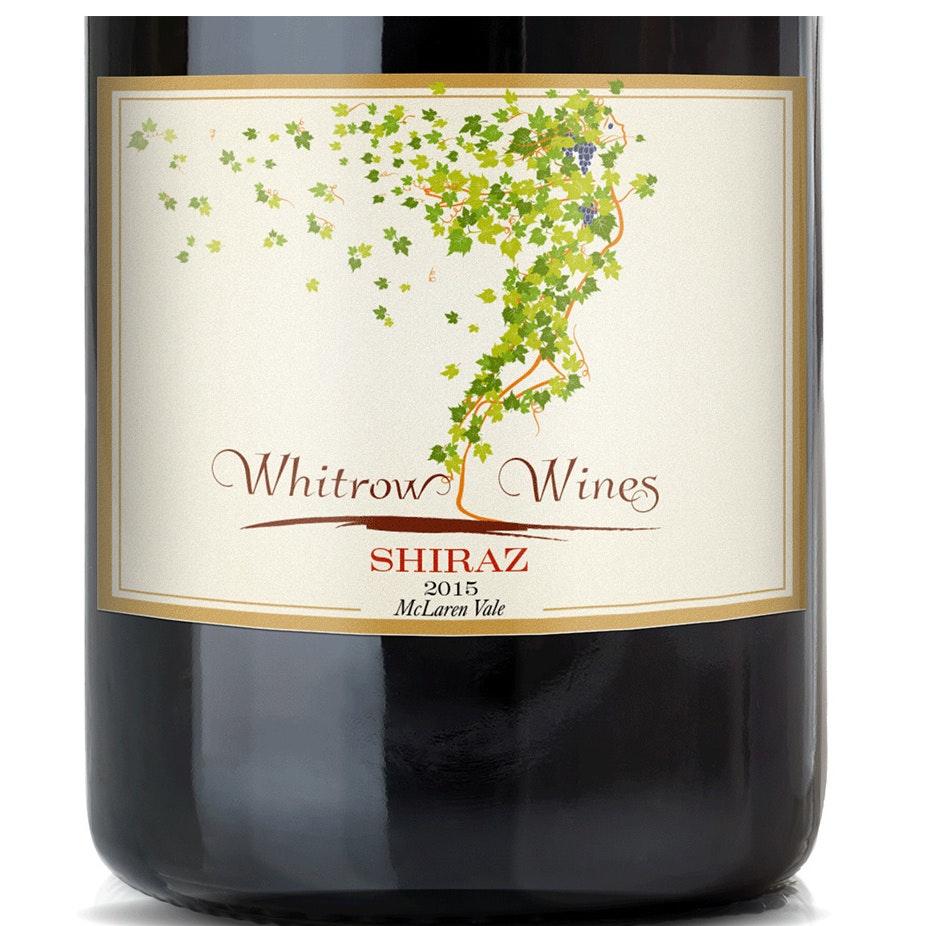 Movement based wine label