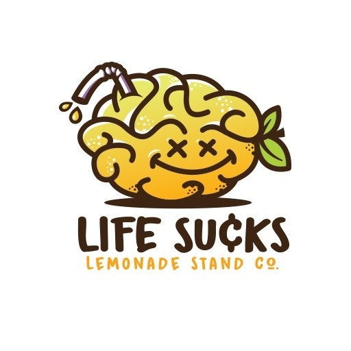 Life Sucks Lemonade Stand Co. logo