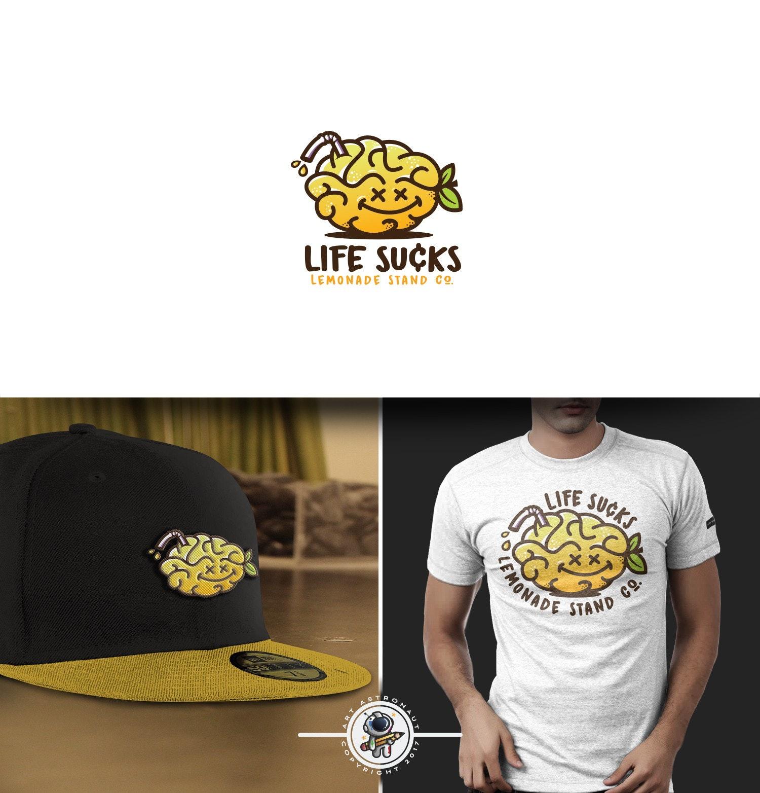 Life Sucks Lemonade Stand Co. logo