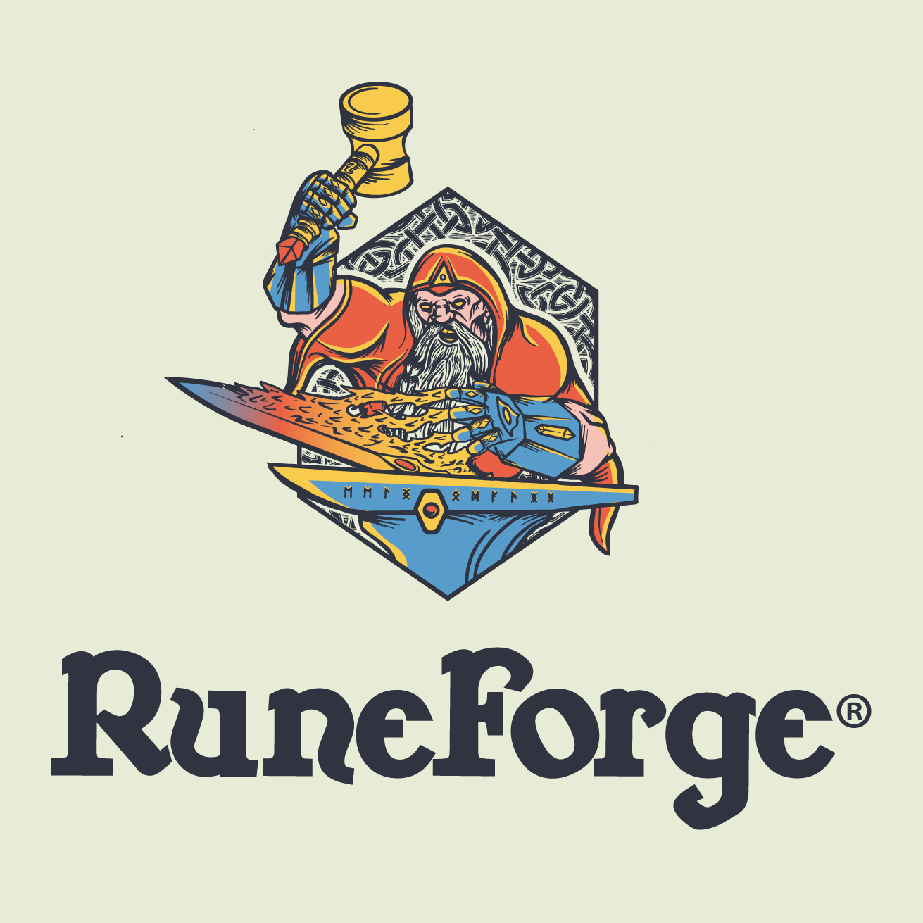 RuneForge logo