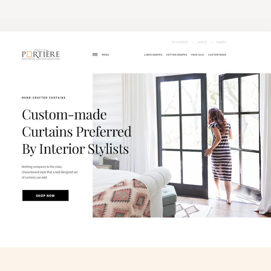 Minimalist/Scandinavian web design